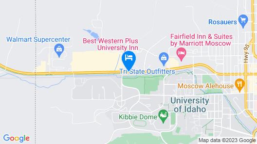 Best Western Plus University Inn Map