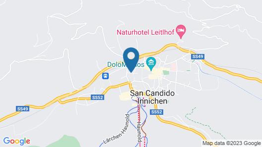 Hotel Baranci Map
