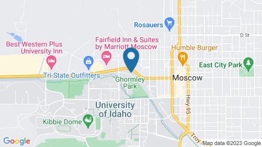 Idaho Inn Map