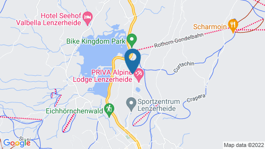 Priva Alpine Lodge Lenzerheide Map