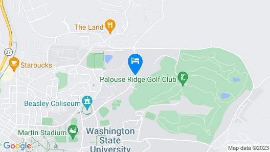 Residence Inn Pullman Map