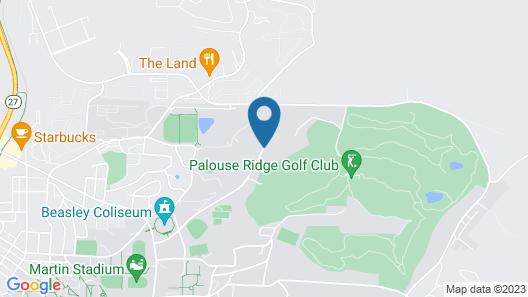 Courtyard by Marriott Pullman Map