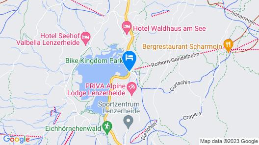 Revier Mountain Lodge Lenzerheide Map