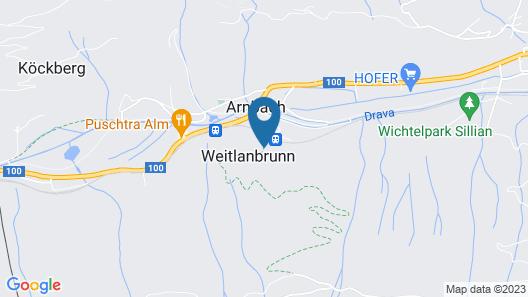 Alpenhotel Weitlanbrunn Map