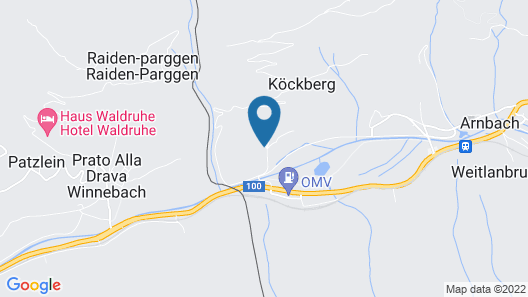 House With 3 Bedrooms in Arnbach, With Private Pool, Enclosed Garden and Wifi - 4 km From the Slopes Map