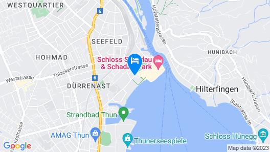 Congress Hotel Seepark Map