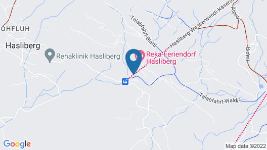 Carefully Furnished Holiday Residence in a Typical Berner Oberland House Map
