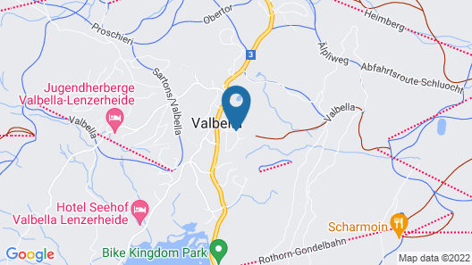 Valbella Resort Map