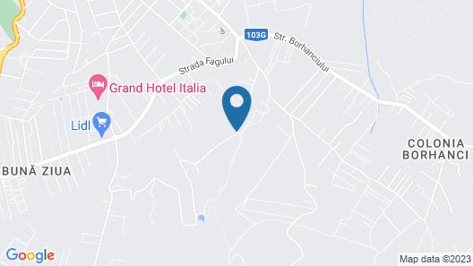 Gaudi Accommodation Map