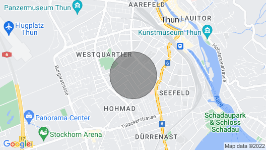 Zentrale Wohnung mit Panorama Map