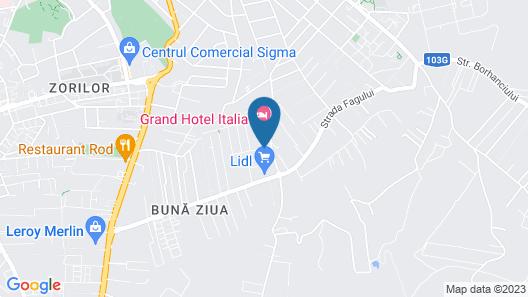 Grand Hotel Italia Map