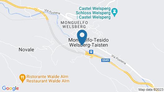Hotel Dolomiten Map