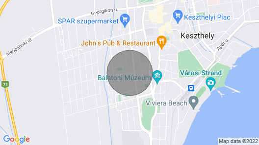 Amazing Home in Keszthely With Wifi and 1 Bedrooms Map