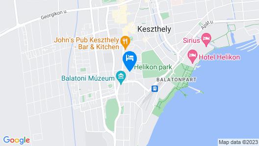 Tulipán Vendégház Map
