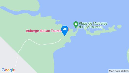 Les Condos du Lac Taureau Map