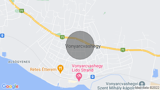 Amazing Home in Vonyarcvashegy w/ Wifi and 4 Bedrooms Map