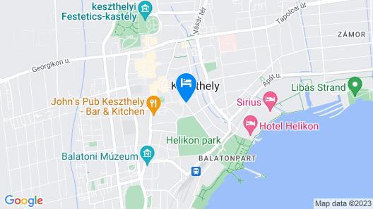 Abbazia Club Hotel Map