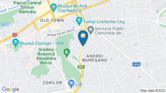 Ramada by Wyndham Cluj Map