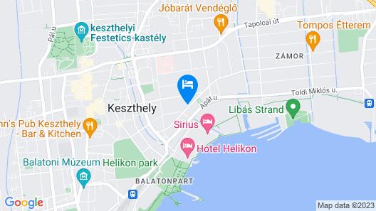 Nussbaum Panzió Map