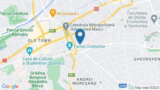 Opera Plaza Map