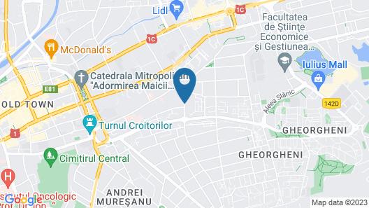 Atrium Boutique Hotel Cluj City Center Map