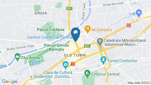 Hotel Transilvania Map