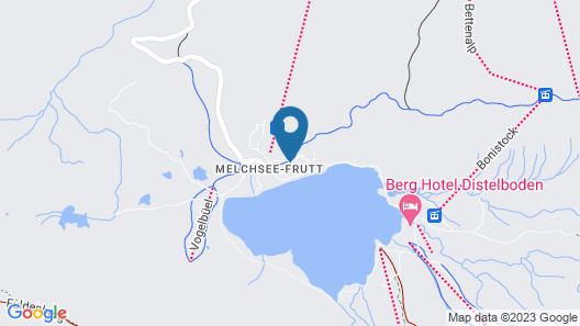 Frutt Lodge & Spa Map