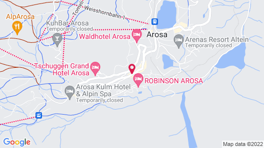 Home Hotel Arosa Map