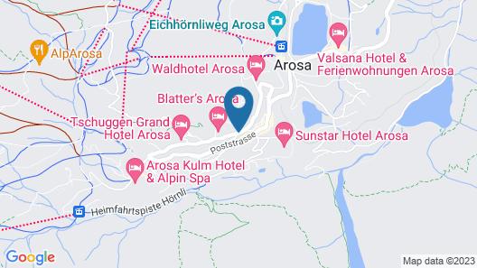 Hotel Streiff Superior Map