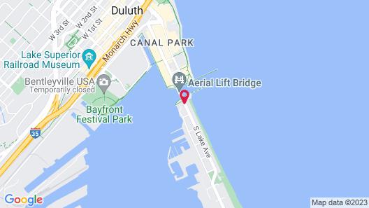 South Pier Inn Map