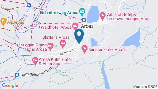 Apartmenthaus Paradies Map