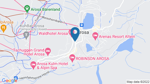 BelArosa Hotel Map