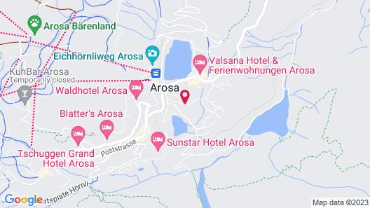 Hotel Astoria Superior Map
