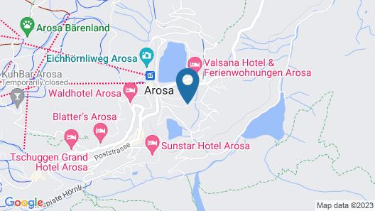 Arenas Resort Altein Map