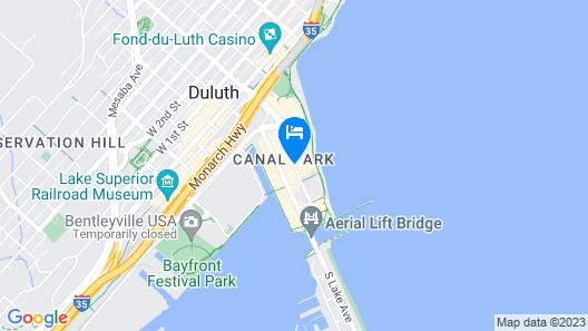The Inn on Lake Superior Map
