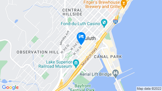 Hostel du Nord Map