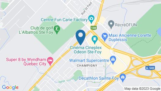 M Motel & Suites Map