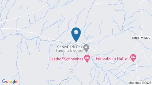 Spacious Chalet in Eriz With Riverside Garden Map