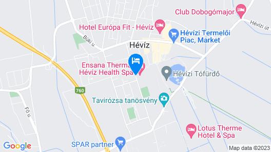 Ensana Thermal Aqua Map