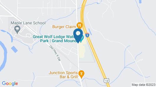 Great Wolf Lodge Grand Mound Map