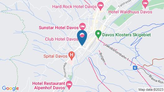 Bernina Bed and Breakfast Map