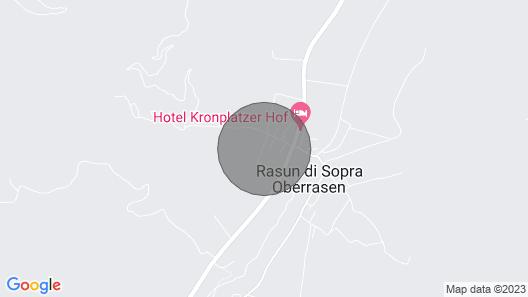 Apartments Home Neumairhof, Rasen Map