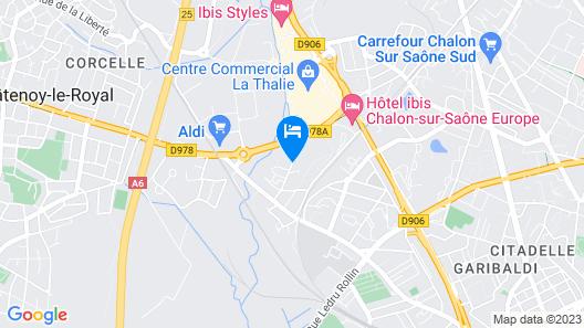 Hotel Première Classe Chalon Sur Saone Map