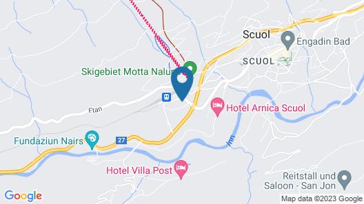 Typically Swiss Hotel Altana Map
