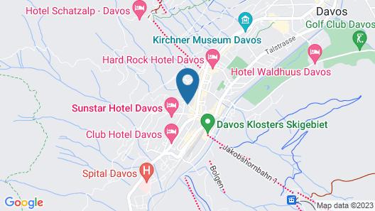 arthausHOTEL Map