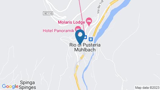 Hotel Castel Kandelburg Map
