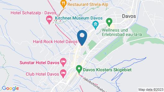 Hard Rock Hotel Davos Map
