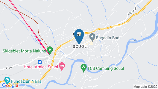 Engadiner Boutique-Hotel GuardaVal Map