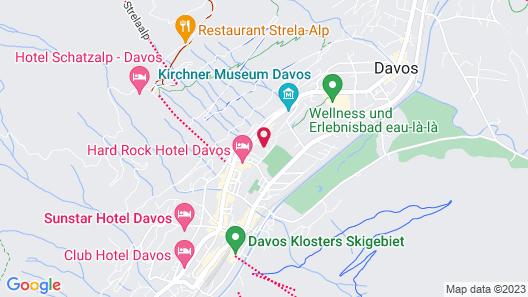 Bündnerhof Map