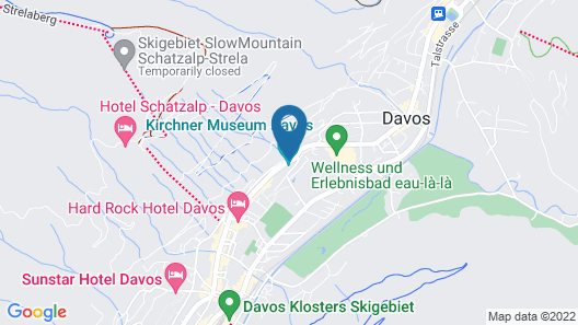 Steigenberger Grandhotel Belvedere Map